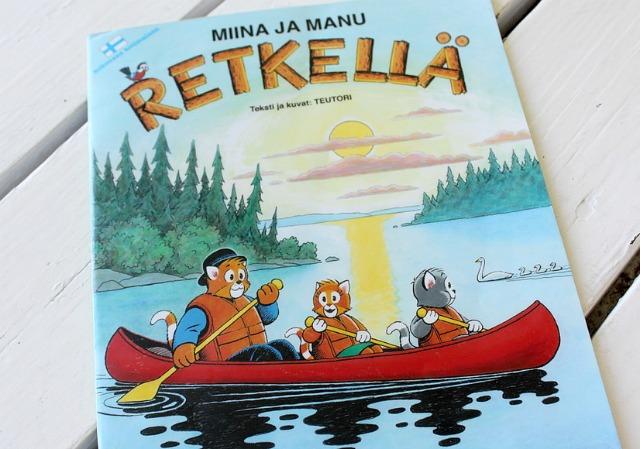 Miina ja Manu retkellä / telttaretki / lastenkirja