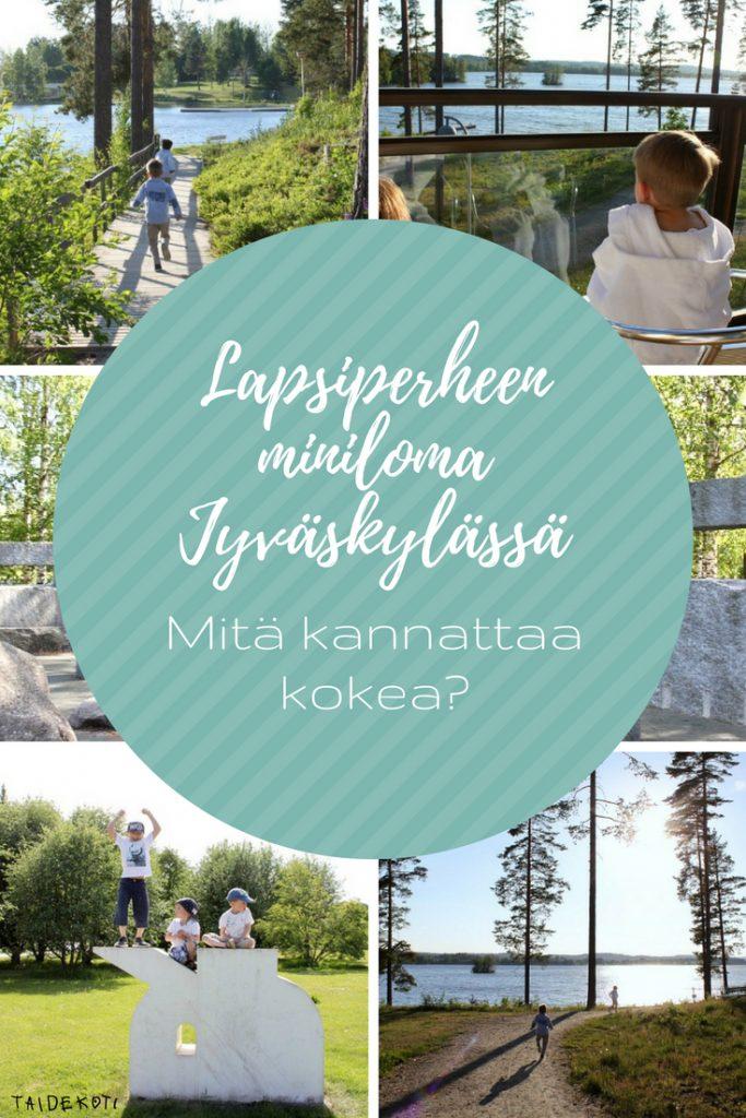 Jyväskylä / Peurunka / Lapsiperhe lomalla