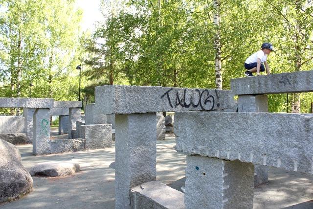 Parkour-puisto / Jyväskylä