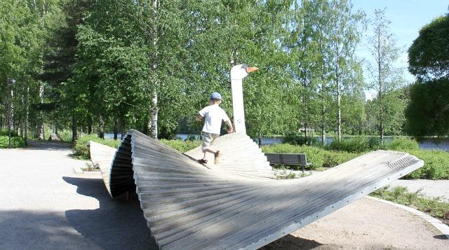 Kangaslammen toimintapuisto / Jyväskylä