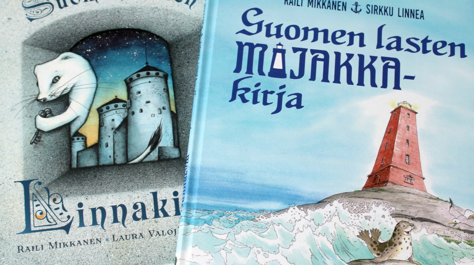 Suomen lasten majakkakirja ja linnakirja