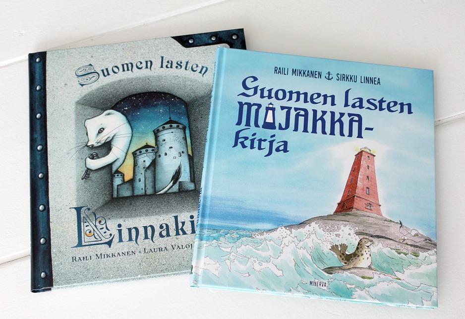 Suomen lasten linna- ja majakkakirja