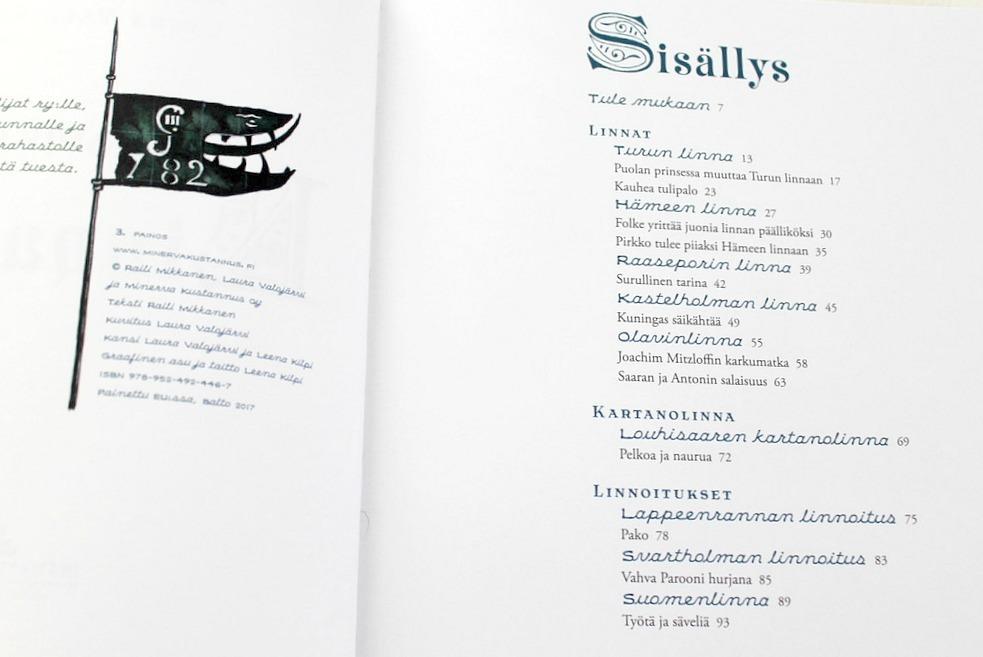 Suomen lasten linnakirja