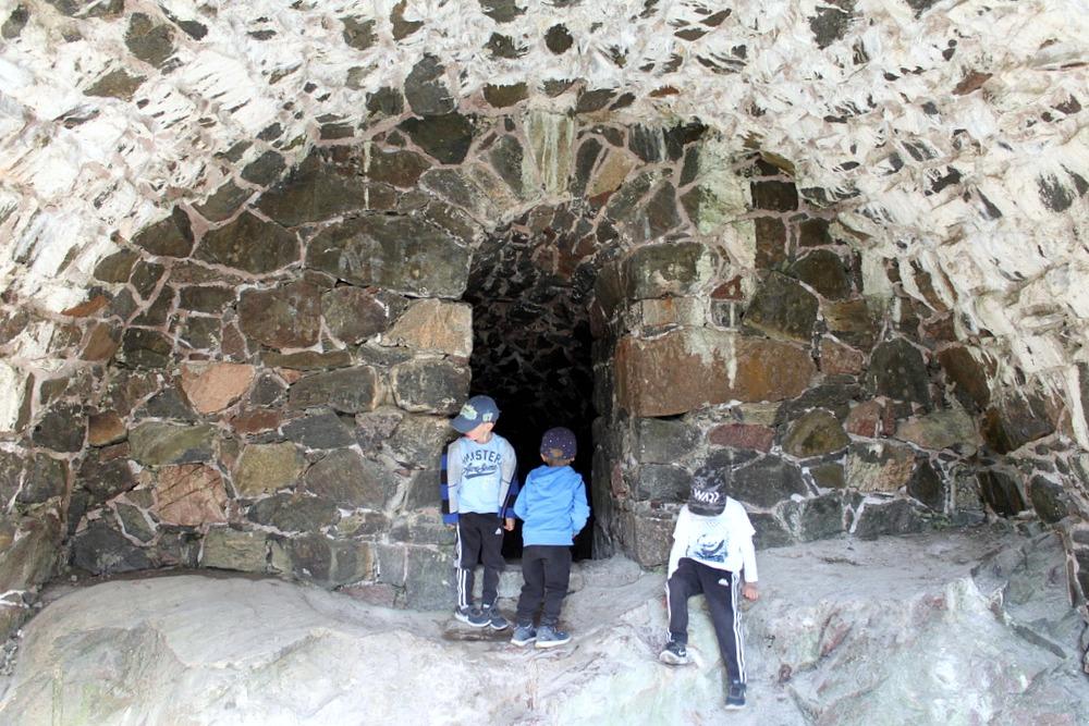 Suomenlinna / tunnelit