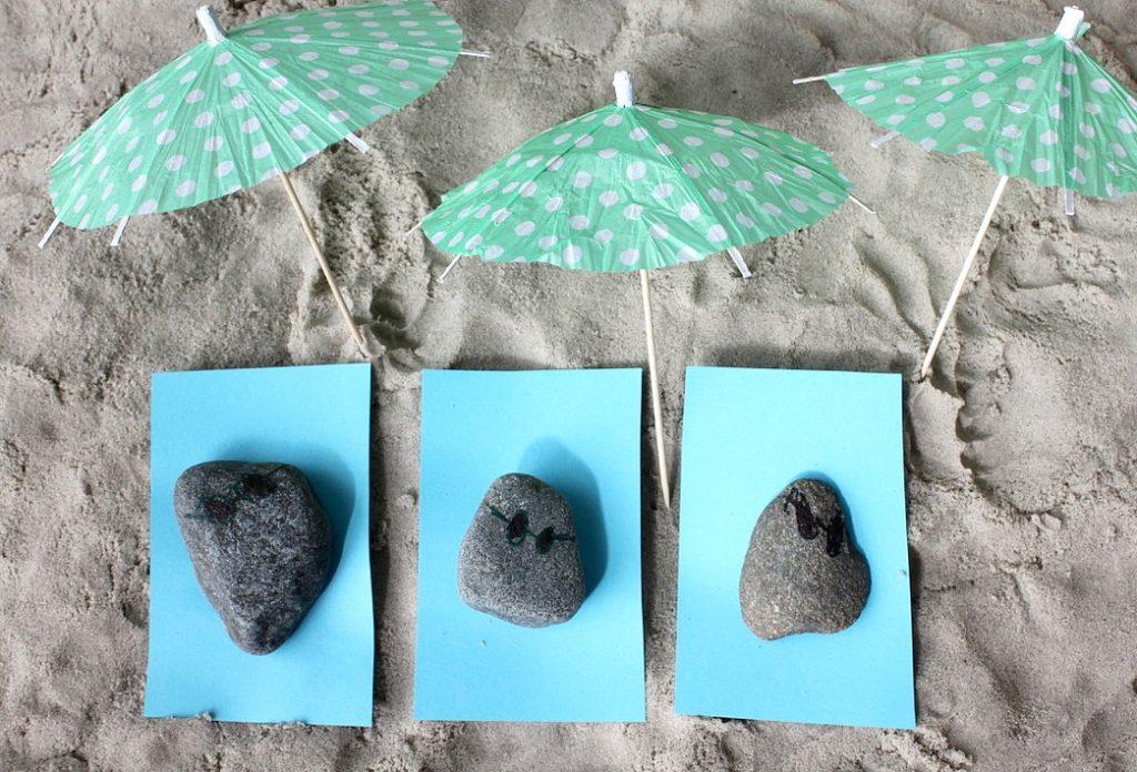 Kivien koristelu / kesäloma