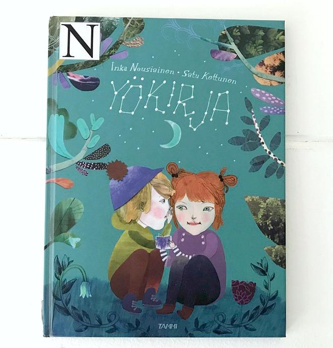Inka Nousiainen ja Sanna Kettunen : Yökirja (Tammi 2015)