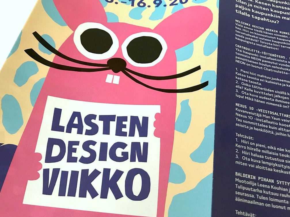 Lasten designviikko / Helsinki Design Week