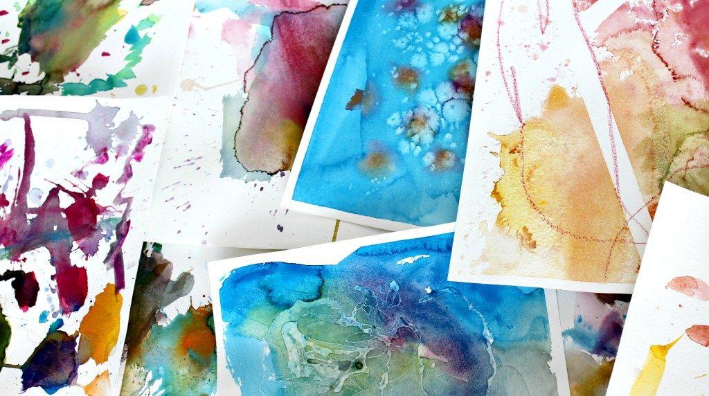 15 vinkkiä vesivärimaalaukseen / Taideideoita lapsille