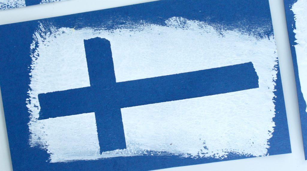 Suomen lippu / lippuaskartelu