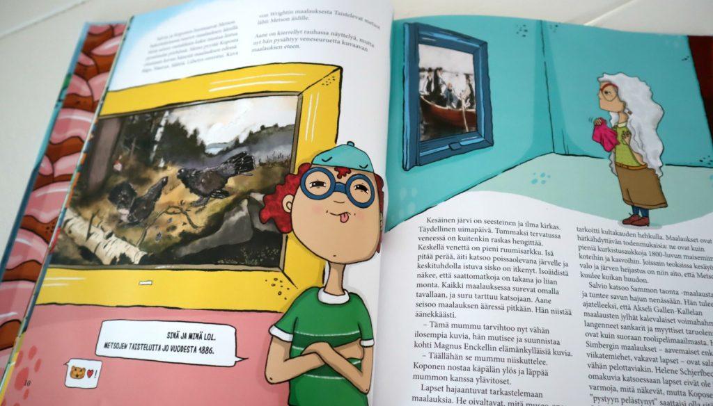 Elina Kuorelahti ja Nunnu Halmetoja: Museoseikkailu (Nemo 2019)